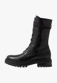 Zign - Kotníkové boty na platformě - black - 1