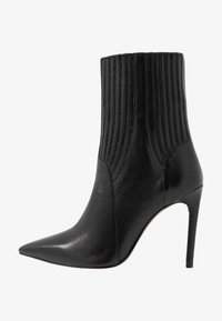 Zign - Kotníková obuv na vysokém podpatku - black - 1