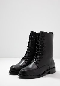 Zign - Snørestøvletter - black - 4