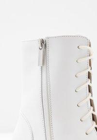 Zign - Lace-up ankle boots - white - 2