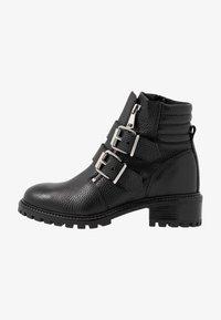 Zign - Cowboy/biker ankle boot - black - 1