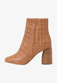 Zign - High heeled ankle boots - cognac - 1