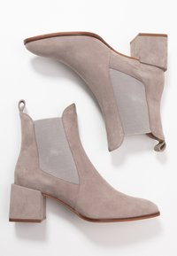 Zign - Classic ankle boots - grey - 3