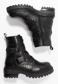 Zign - Botines camperos - black - 3