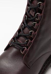 Zign - Platform ankle boots - bordeaux - 2
