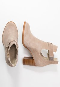 Zign - Ankle boots - beige - 3