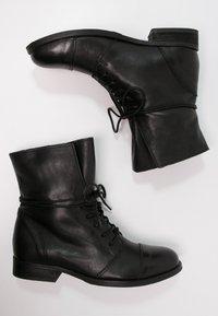 Zign - Botines con cordones - black - 2