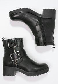 Zign - Cowboy- / bikerstøvlette - black - 2