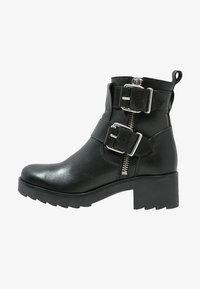 Zign - Cowboy- / bikerstøvlette - black - 1