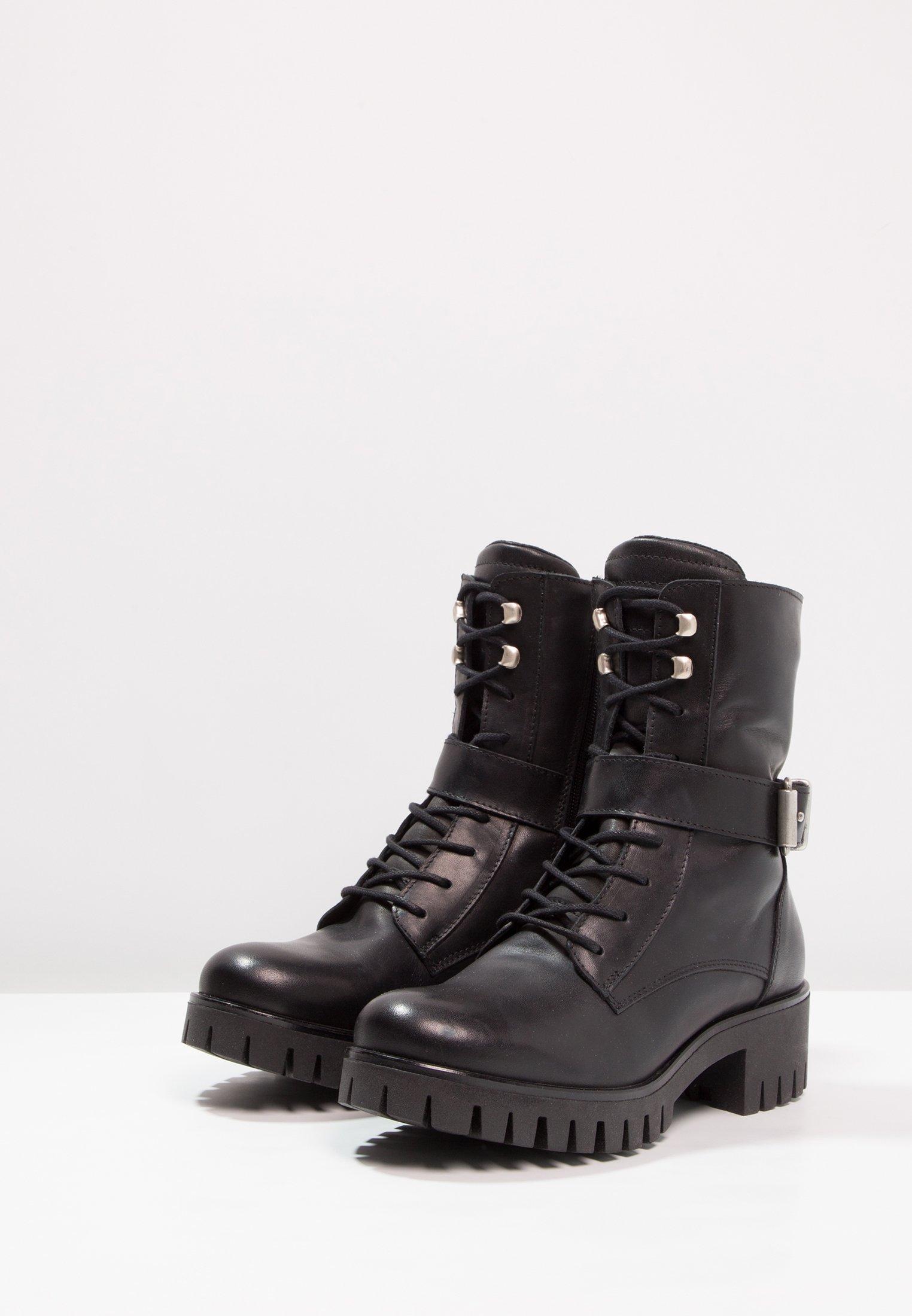 Zign Cowboy- / Bikerstövletter - Black