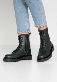Zign - Winter boots - dark green - 0