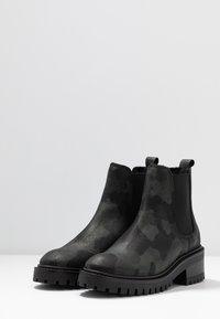 Zign - Winter boots - dark green - 4