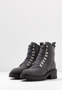 Zign - Lace-up ankle boots - grey - 4