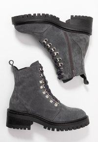 Zign - Lace-up ankle boots - grey - 3