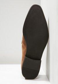 Zign - Elegantní nazouvací boty - cognac - 4