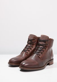 Zign - Lace-up ankle boots - cognac - 2