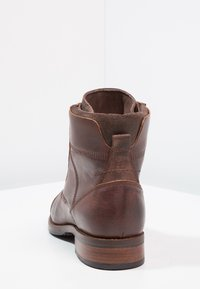 Zign - Lace-up ankle boots - cognac - 3