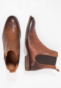 Zign - Classic ankle boots - cognac - 1