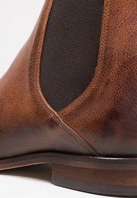 Zign - Classic ankle boots - cognac - 5