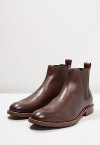 Zign - Støvletter - dark brown - 2