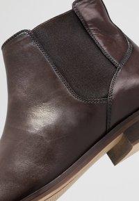 Zign - Støvletter - dark brown - 5