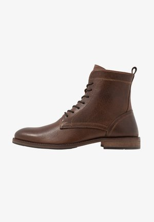 DULAC - Lace-up ankle boots - brown