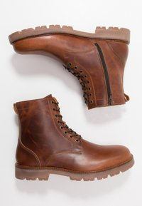 Zign - Lace-up ankle boots - brown