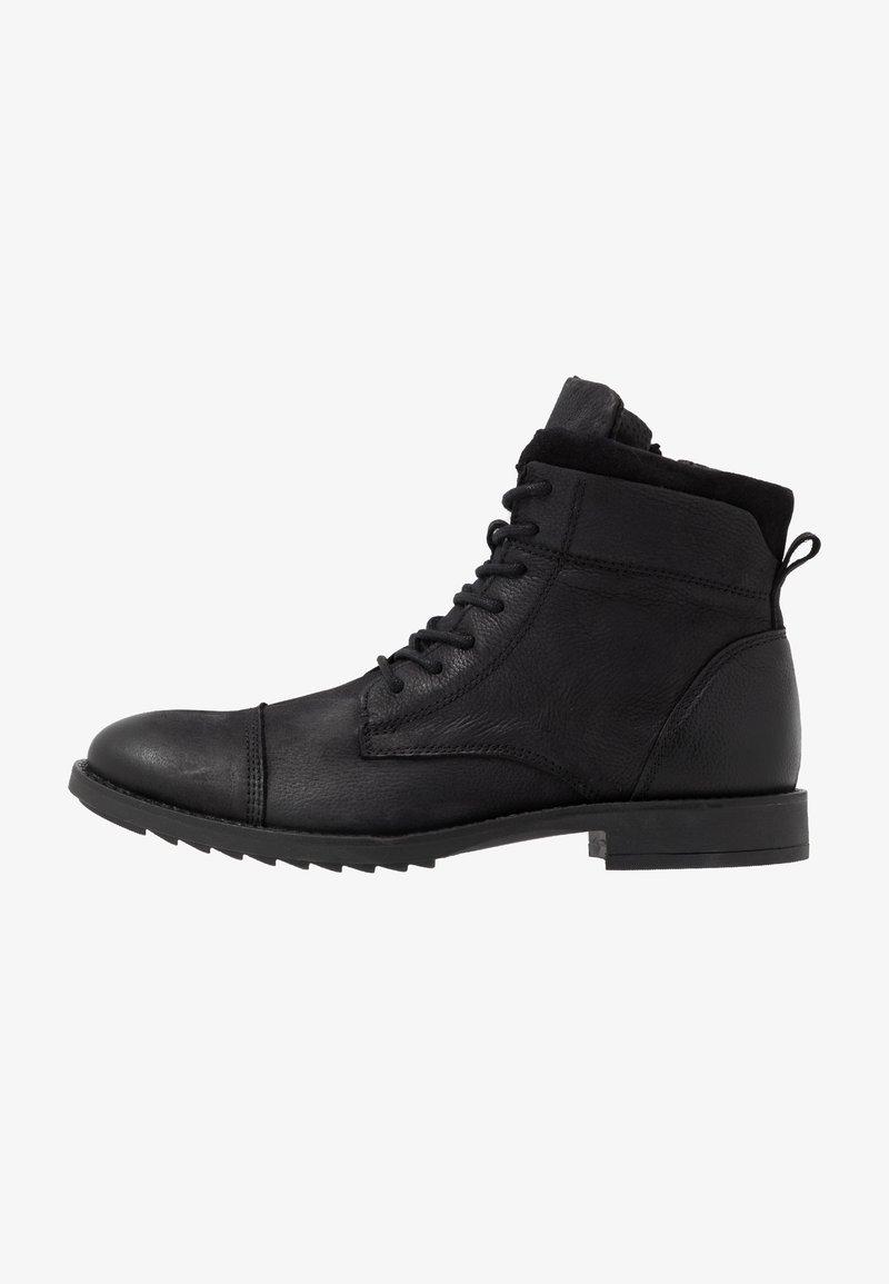 Zign - Schnürstiefelette - black