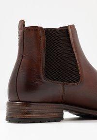 Zign - Kotníkové boty - brown - 5