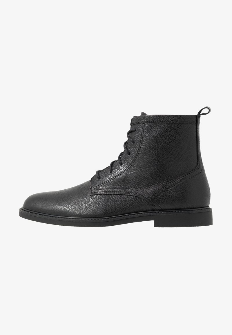 Zign - Bottines à lacets - black
