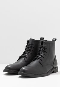 Zign - Bottines à lacets - black - 2