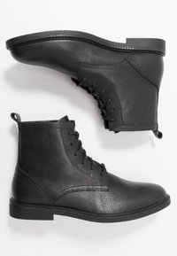 Zign - Bottines à lacets - black - 1
