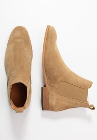Zign - Classic ankle boots - sand - 1