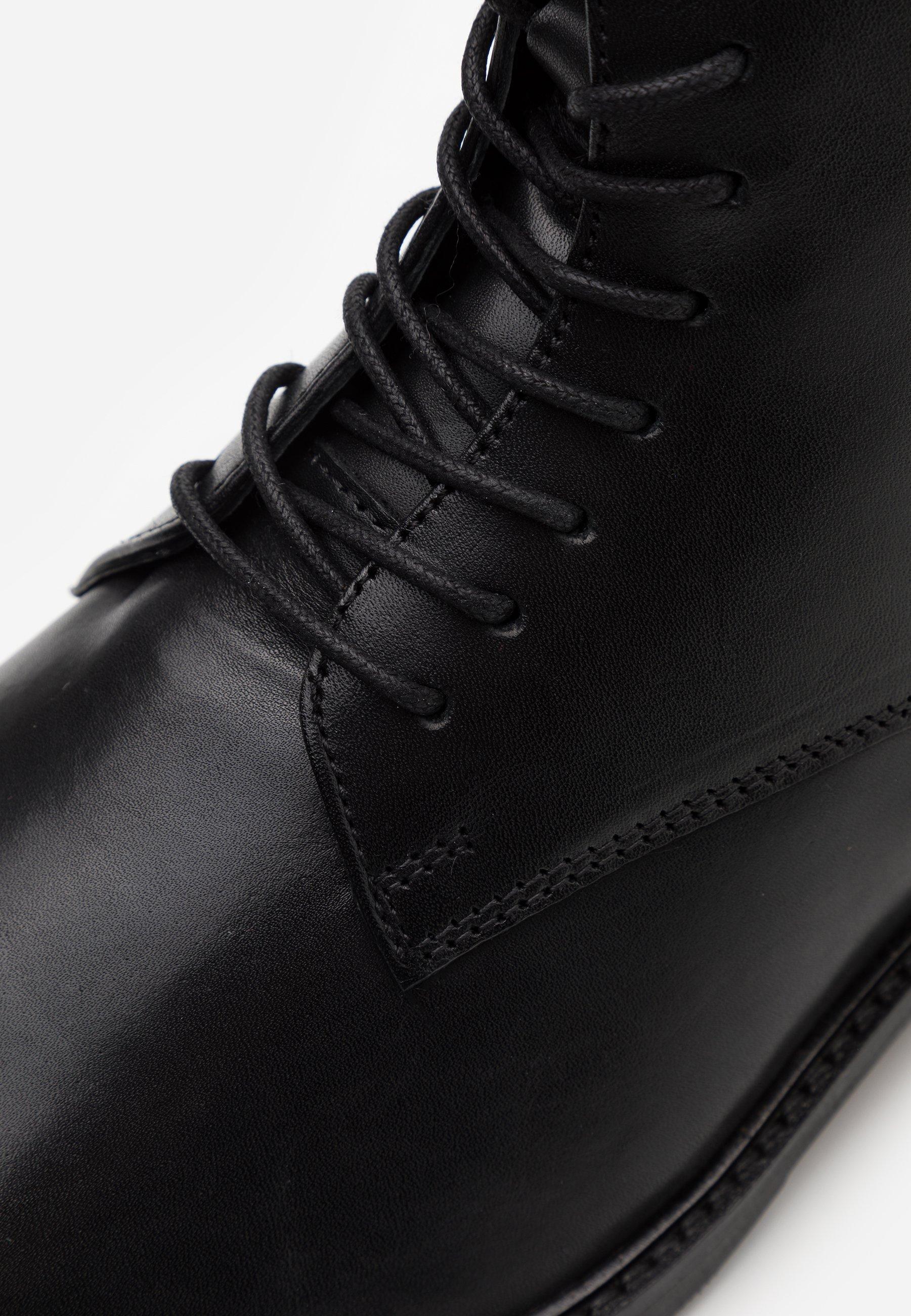 Zign Bottines à lacets black ZALANDO.FR