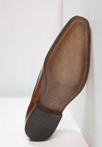 Zign - Smart lace-ups - cognac - 4