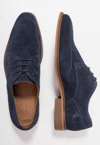 Zign - Elegantní šněrovací boty - dark blue - 1