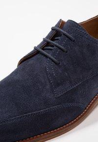 Zign - Elegantní šněrovací boty - dark blue - 5