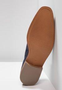 Zign - Elegantní šněrovací boty - dark blue - 4