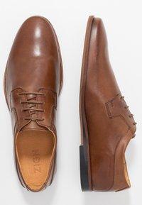 Zign - Smart lace-ups - light brown - 1