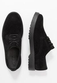 Zign - Šněrovací boty - black - 1