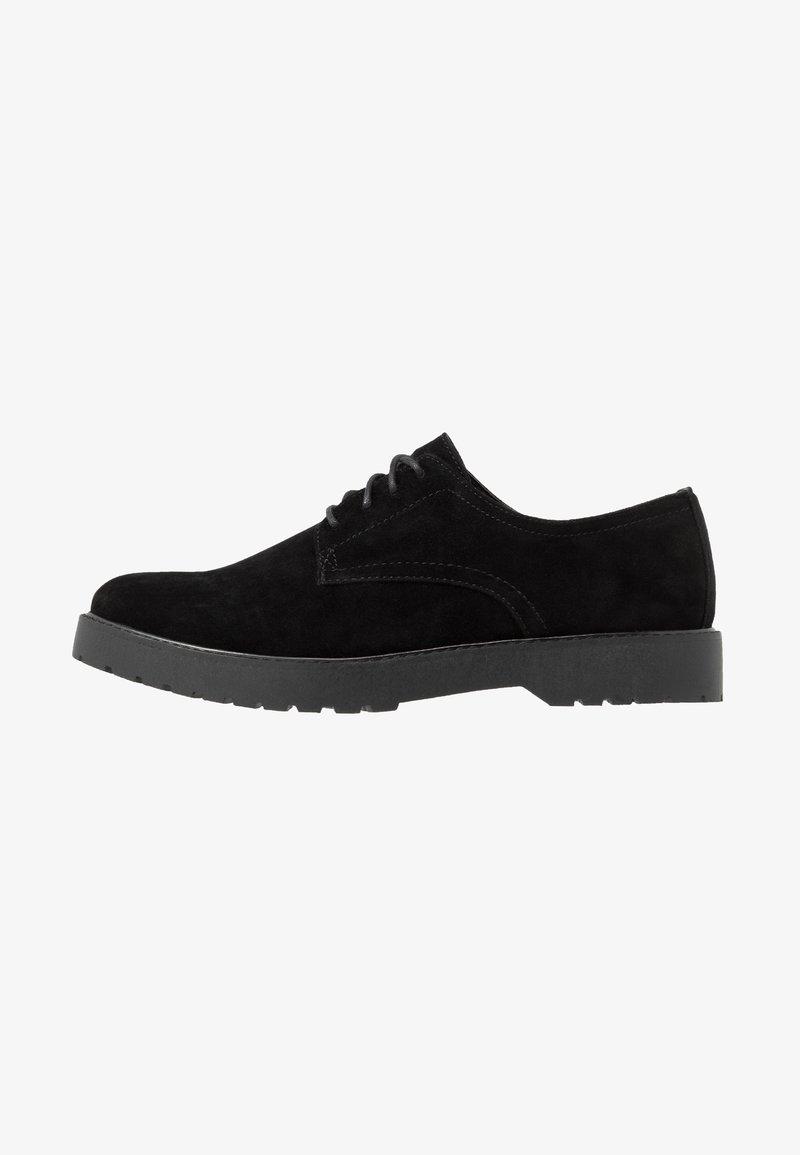 Zign - Šněrovací boty - black