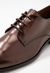 Zign - Smart lace-ups - cognac - 5