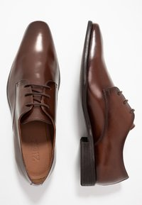 Zign - Smart lace-ups - cognac - 1