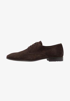 Stringate eleganti - dark brown