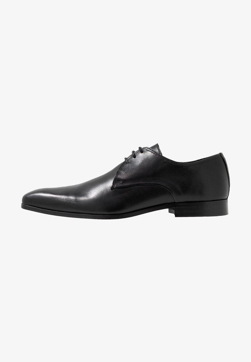 Zign - Elegantní šněrovací boty - black