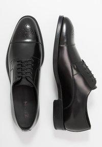Zign - Smart lace-ups - black - 1