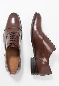 Zign - Business sko - brown - 1