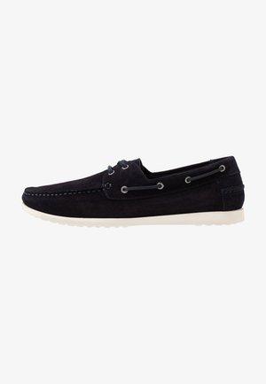 Boat shoes - dark blue