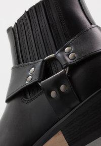 Zign - Cowboy-/Bikerlaarsjes - black - 5