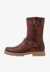 Zign - Cowboy/Biker boots - cognac - 0